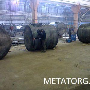 Резервуары стальные РГСД